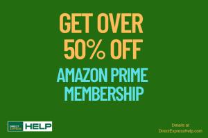 """Get Amazon Prime Discount"""