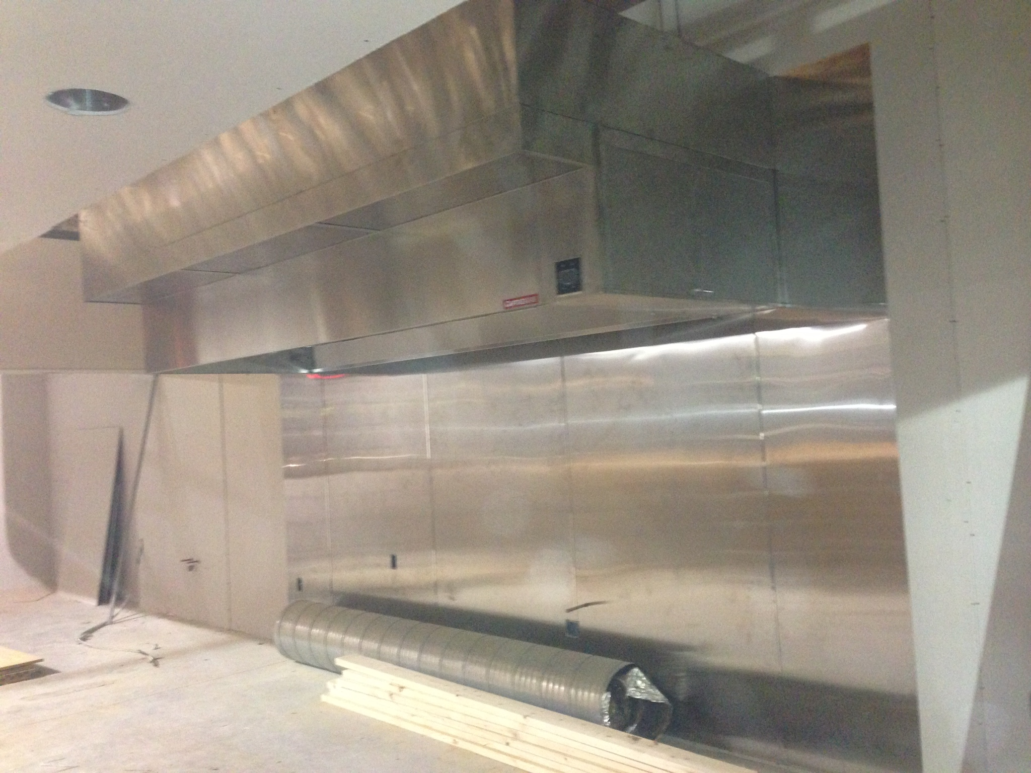 commercial kitchen hood installation counter stools for heating and air conditioning at moe 39s grill clay ny