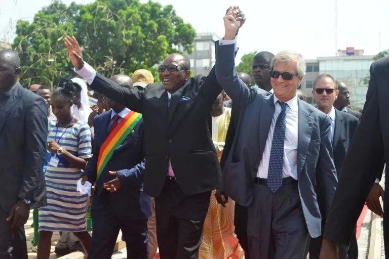 Vincent Bolloré convoqué par des juges français — Ports de Conakry