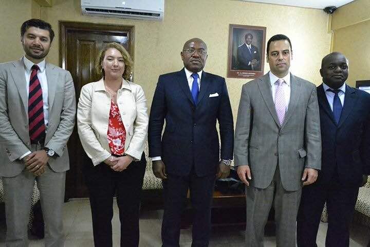 Une mission du FMI à Libreville
