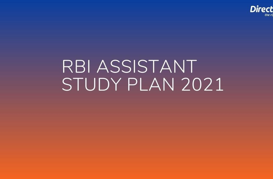 RBI Assistant Study Plan 2021
