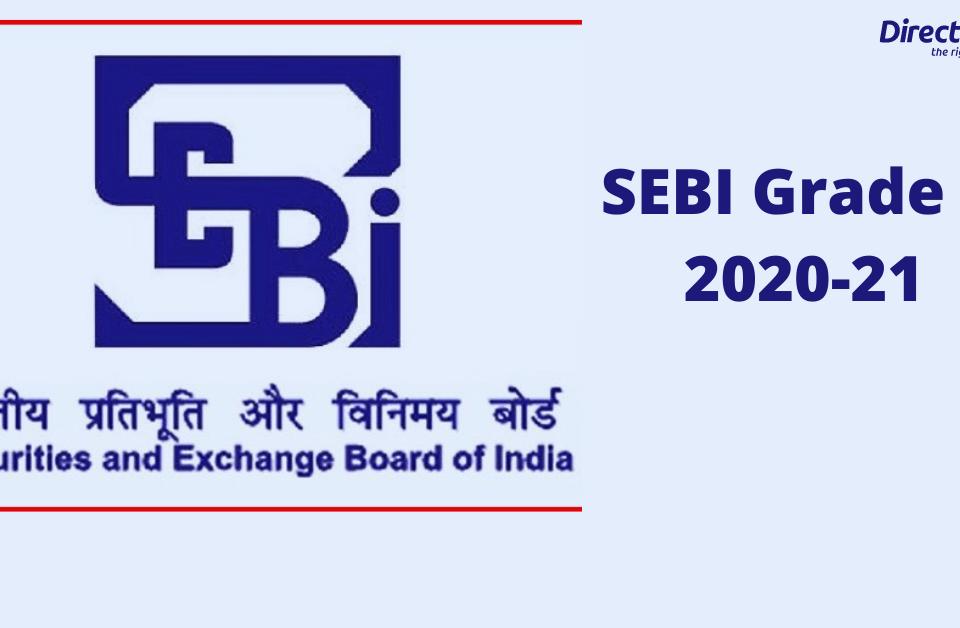 SEBI Grade A 2021