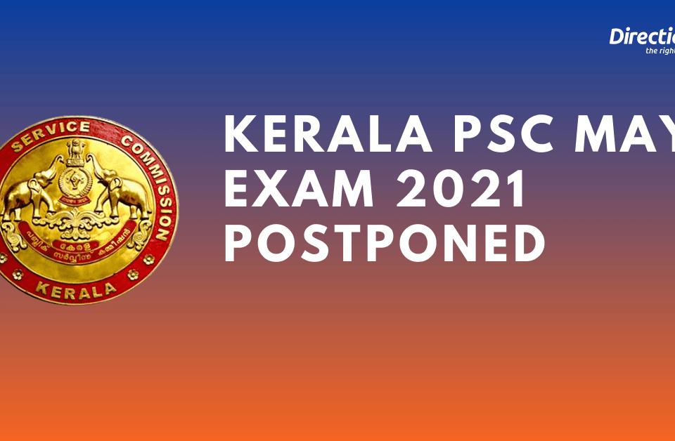 May Exam 2021 Postponed