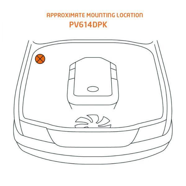 ProVent® Oil Separator Kit LAND CRUISER 200 (PV614DPK)