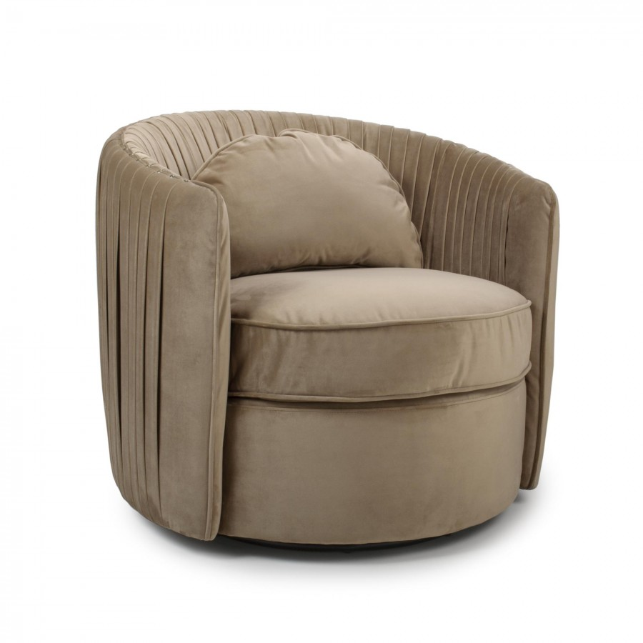 Swivel Tub Chair Swivel Ball Tub Chair Natural