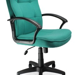 High Back Office Chairs With Lumbar Support For Girls Room Executive Chair In Aqua