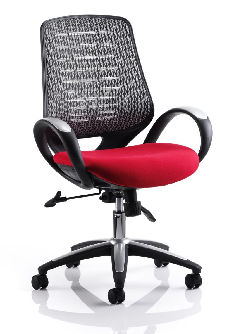 Red Desk Chair Sprint Mesh Office Chair In Red