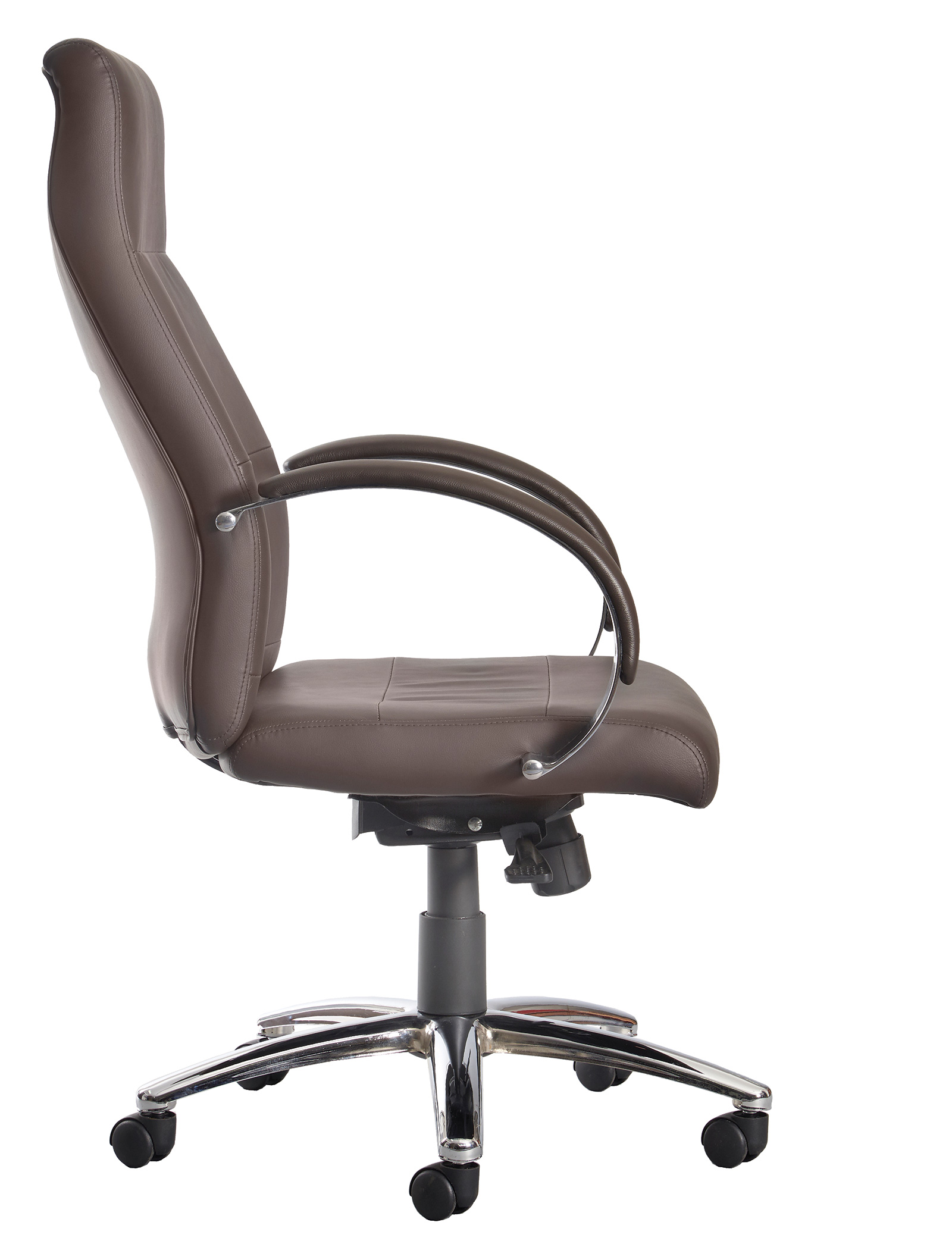Brown Leather Office Chairs Indiana Brown Leather Office Chair