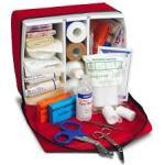 Uso del botiquín de primeros auxilios