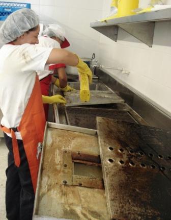 Mantenimiento de cocina industrial