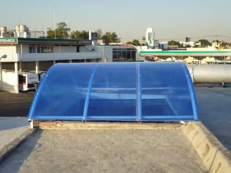 Tipos de domos de policarbonato