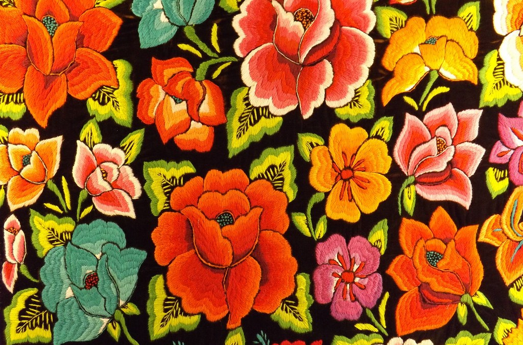 Tipos de bordados mexicanos
