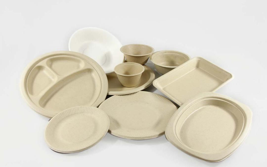 Artículos desechables biodegradables