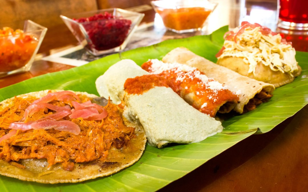Platillos típicos yucatecos