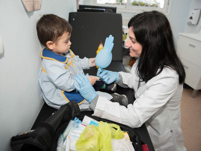 La importancia de contar con una enfermera en el colegio.