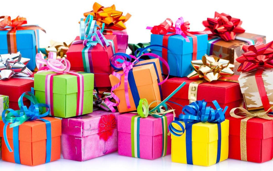 Tipos de papel para envolver un regalo