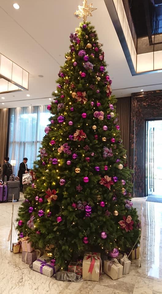 凱撒一樓迎賓聖誕樹