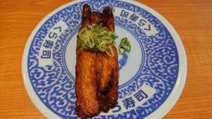 くら寿司-蒲燒鮭魚一貫