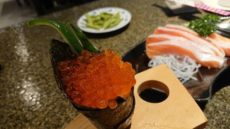 寶船鮭魚卵手捲