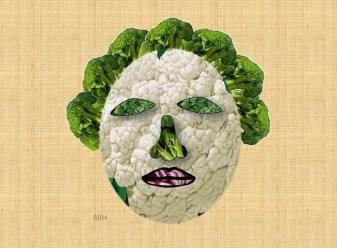 Cruciferous veggie head