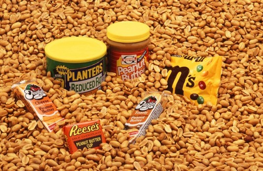 Peanuts and peanut products