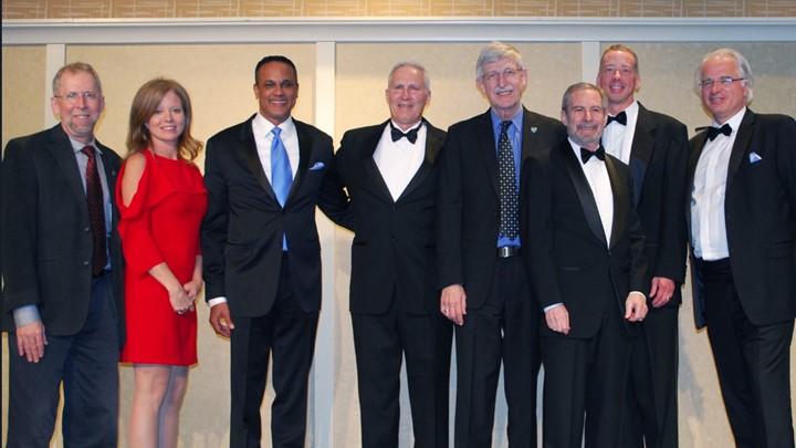 Group photo at Lifetime Achievement Gala