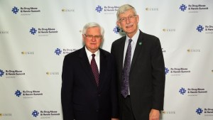 Congressman Hal Rogers and Francis Collins