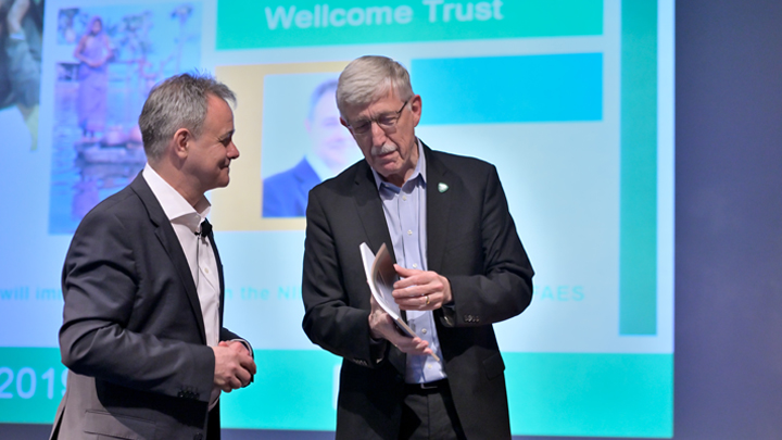 Francis Collins and Jeremy Farrar