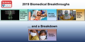 Science 2019 Biomedical Breakthroughs and a Breakdown