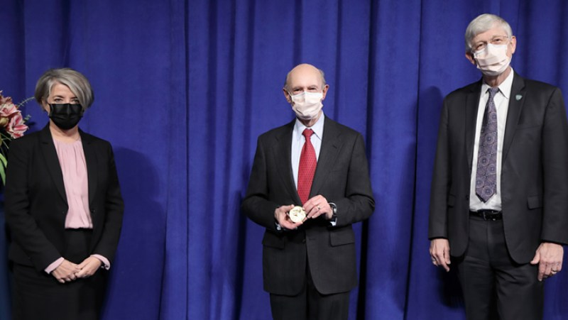 Ceremonial Nobel Presentation for Harvey Alter