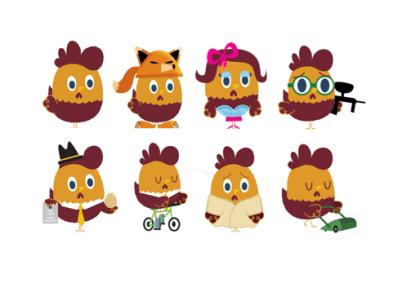 Peskimo Character Designs