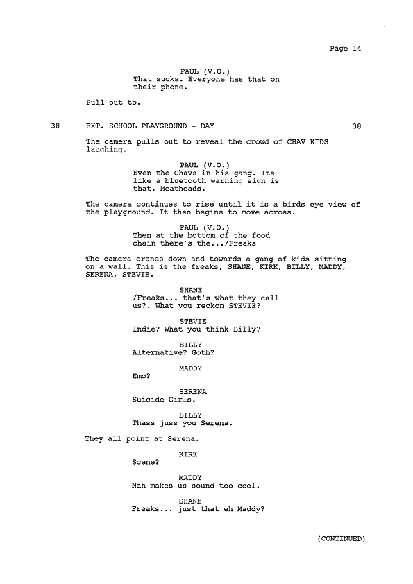 Script Extract - Page 14