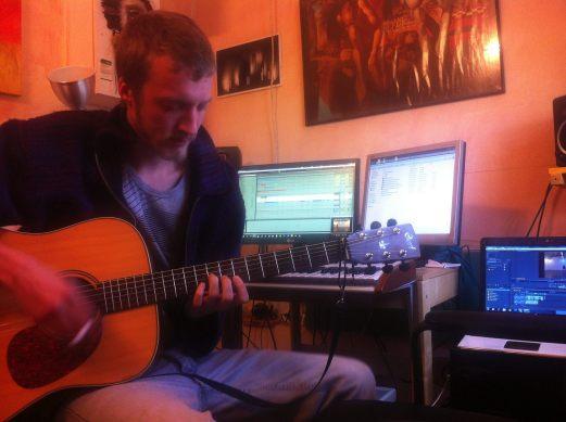 Nick at the Studio
