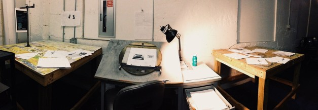 Work area at The Savannah College of Art and Design.