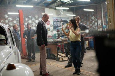 L-R: Cast – William Gluth, Choreog – Aisha-Mary-Kuryana, Cast – John-Brumpton