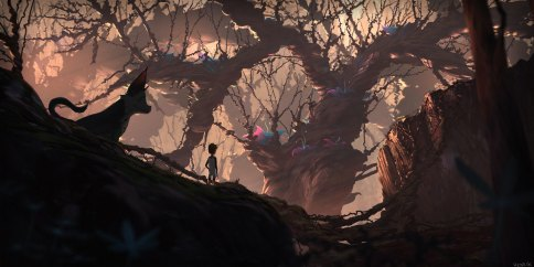Mystic Forest - Henrik Evensen concept art