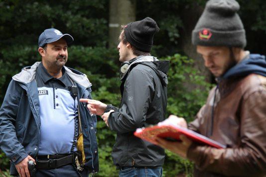 Director Felix Ahrens with Actor Tom Keune