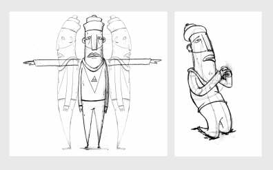 Philosopher character sketches