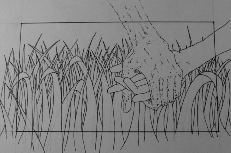 Aengus storyboard sketche