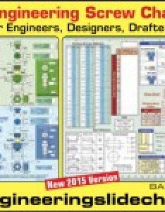 The ultimate slide chart for engineers designers drafters and machinists also rh directorysignnews