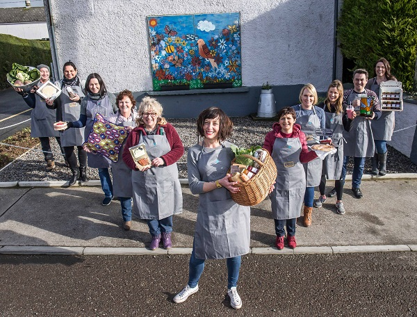 Pictured at the announcement of the 2018 Cottage Market Fund is GIY's Head of Community Development and Founder of The Cottage Market Karen O'Donohoe with Cottage Marketers Sue parsons, Betty Brosnan, Trudi O' Regan, Fiona Whelan, Eamonn McCarthy, Nora Cunningham, James Nichola, Marie O'Mahony, Louise Cuddihy, Siobhan Doherty.GIY with the support of The Ireland Funds are set to support the start up of Cottage Markets across the country. Community groups across Ireland are now invited to apply for supports to the value of €30,000. Applications are being accepted online via www.thecottagemarket.ie until March 23rd 2018. Photograph Pat Moore.