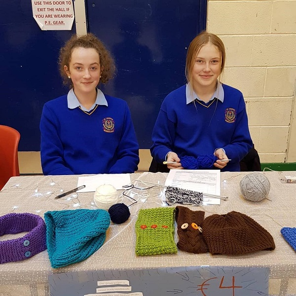 Intermediate Qualifiers: Woolen Wonders. Anna Stapleton and Ruth Bourke