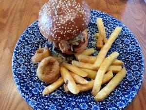 BBQ Hog Burger