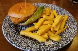 Fried Buttermilk Chicken Burger