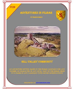 Free Role Playing Game Supplement Review: FT – Hill Valley Community
