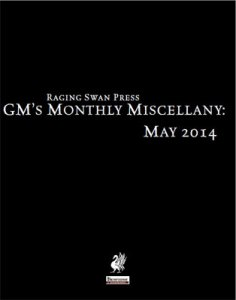 GM's Monthly Miscellany: May 2014