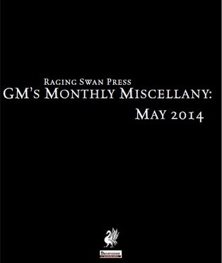 Free Role Playing Game Supplement Review: GM's Monthly Miscellany: May 2014