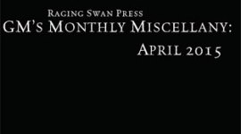 GM's Monthly Miscellany: April 2015
