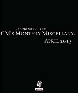 Free Role Playing Game Supplement Review: GM's Monthly Miscellany: April 2015