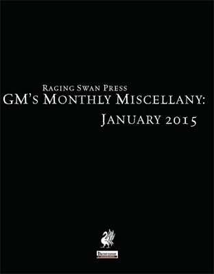 GM's Monthly Miscellany: January 2015